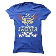 its a JACINTA Thing You Wouldnt Understand ! - T Shirt, - #gift for men #food gift. OBTAIN LOWEST PRICE => https://www.sunfrog.com/Names/its-a-JACINTA-Thing-You-Wouldnt-Understand--T-Shirt-Hoodie-Hoodies-YearName-Birthday-44996498-Ladies.html?68278