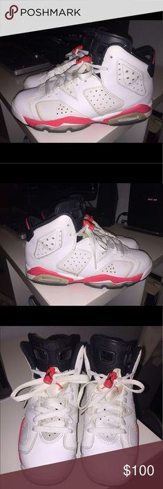 Jordon 6 Jordan 6 White Infared 2014 Retro Air Jordan Shoes Athletic Shoes