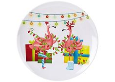 brighten the season florida christmas plate Christmas Plates, Wish You Are Here, Lanai, Florida, Seasons, Palm, Fun, Design, Decor