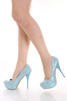 Light blue wedge | Everything I love and want!! | Pinterest | Blue ...