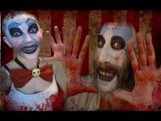 Captain Spaulding Makeup Tutorial... This just might be my Halloween costume this year!!!!