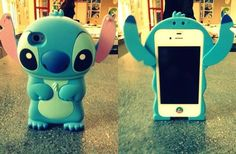 stitch! I would so get this if i had an iphone Apple Products, Iphone 5 Cases, Cute Phone Cases, Iphone 4, Amai, Portable, Google, Lilo And Stitch, Ipod Touch
