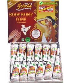 7 Best Golecha Henna Cones And Tubes Images Golecha Henna Henna