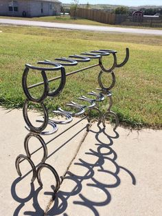 Hey, I found this really awesome Etsy listing at https://www.etsy.com/listing/253854998/rustic-6-pair-horseshoe-boot-rack-with