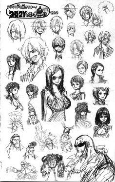 Eiichirō Oda - One Piece Ay, de todas maneras Sanji luce apuesto y hermoso <3 *nosebleed*