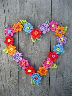 Download Valentine Sweet Heart Crochet Pattern (FREE)