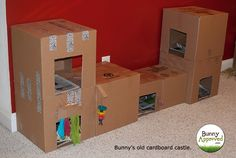 You can sit inside or on top of it, turn it into a tunnel or a house or get many and build a whole castle! Description from bunnyapproved.com. I searched for this on bing.com/images                                                                                                                                                                                 More