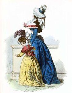Mode de la Révolution française 1792