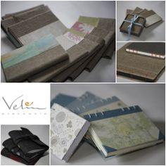 Hand-made notebooks from Pracownia Velin
