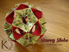 starry globe by Kalami - modular origami
