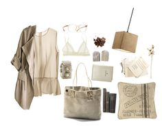 """""""Untitled #23"""" by nagy-bori on Polyvore featuring FOSSIL, Dot & Bo, H&M, Eberjey, Oliver Peoples and Coach House"""