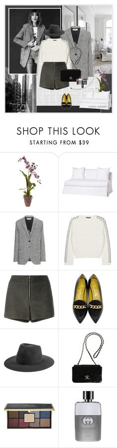 """Alexa Chung"" by rainie-minnie ❤ liked on Polyvore featuring Nearly Natural, STELLA McCARTNEY, Alexander McQueen, rag & bone, Charlotte Olympia, Chanel, Ciaté, Gucci, women's clothing and women"