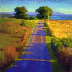 Evening, Tomales Bay by Ian Roberts how about that! have to try and find it...