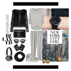 A fashion look from September 2015 by cukri featuring Splendid, H&M, NIKE, Christian Dior and Master & Dynamic Fashion Now, London Fashion, Fashion Beauty, Polyvore, Fall Winter Outfits, Fall 2015, Minimalism, Personal Style, Autumn Fashion