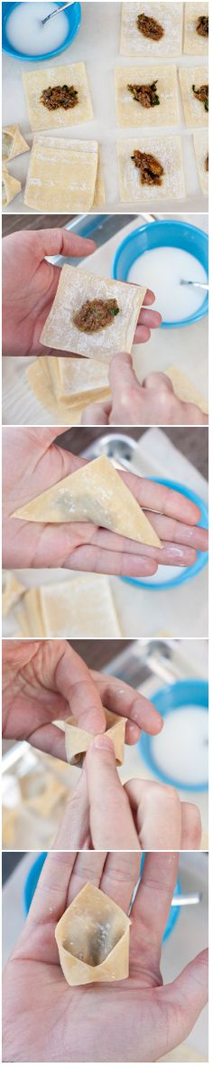 Dumplings are a joy but rarely something people make at home, despite being super easy. This guide to homemade dumplings will show you all you need to know. How To Make Dumplings, Homemade Dumplings, Chinese Dinner, Chinese Food, Oriental Food, Oriental Recipes, Ravioli, Cantonese Food, Chinese Dumplings
