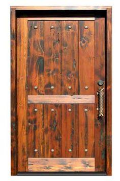 rustic wood doors   Door Designs Plans