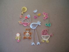 More baby ideas, #quilling