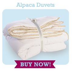 ***Creative Gift Giving Idea*** Wrap your loved one in the luxury of a warm Custom Alpaca Duvets ... order now for Christmas! http://customalpacaduvets.ca