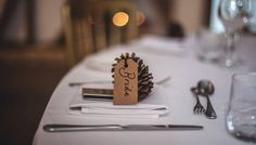 Isn't this such an elegant alternative the the traditional wedding place card? You can present rustic luxury among your wedding tables, for a stunning appearance.  Let's begin planning your wedding: https://www.ravenluxuryevents.com/  #wedding #placecard #weddingtable #ravenluxuryevents  Photo Source: https://www.pexels.com/photo/silver-spoon-beside-silver-fork-60257/