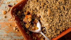 Vegetarian Recipes - NYT Cooking APPLE,PEAR,CRANBERRY PECAN-CRUMBLE