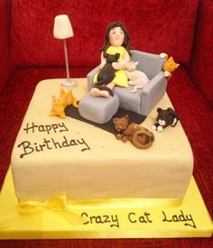 Another crazy cat lady cake