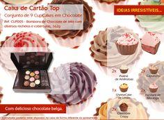 Delicie-se com os nossos saborosos cupcakes de vários sabores!