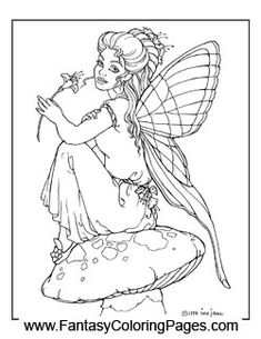 Check out these beautiful fairy coloring pages. With this package you get 16 of the most detailed creative quality coloring pages ever created.
