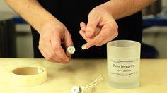 Beginner's Candle Making : Basic Candle Making 101 Candle Making At Home, Candle Making For Beginners, Candle Making Supplies, Making Candles, Homemade Candles, Diy Candles, Scented Candles, Candle Jars, Candle Craft
