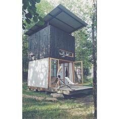#LeBoisBasalte  #NanoHouse  #TinyHouse  #Auvergne  #Gîte  #Architecture