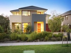 small modern home exterior design trend | small house exteriors