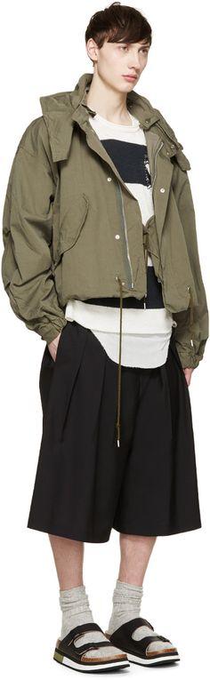 Miharayasuhiro - Green Military Jacket