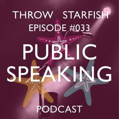 Our Podcast 033 is all about #PublicSpeaking...that's right we're discussing what is said to be one of the most nerve racking of human experiences; sharing our experiences tips n tricks and debunk some of the things our minds run away with! Link on our profile to this Episode of the #ThrowStarfish #Podcast  #startups #SuccessQuotes #Sociality #SharingIsCaring #TrainingForLife #Inspirations #GrowthHacking #Podcasts #Entrepreneurial #Quoted #iTunesRadio #Stitcher #Sharing #MarketingStrategy…