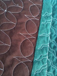 A Few Scraps: Free Motion Quilt Along: Scallops and Echo Designs