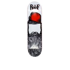 """The Roof Ottoman Deck 8,0""""/ 8,5"""" http://theroofskateboards.com/urun/roof-ottoman-deck-80-85/"""