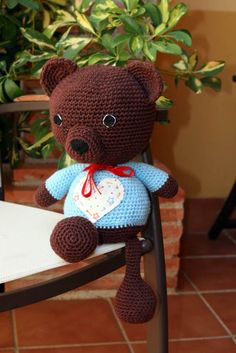Tutorial Osos Amigurumi : amigurumi on Pinterest Patrones, Pocoyo and Crochet