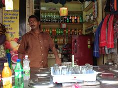 A stall in front of Thiruverkadu Temple-Chennai:iPhoto by:P.Paulvadivu
