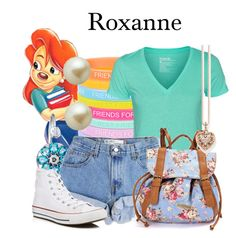 """Roxanne"" by megan-vanwinkle ❤ liked on Polyvore featuring Monsoon, Hurley, Levi's, Converse, Thomas Sabo and Carolee"