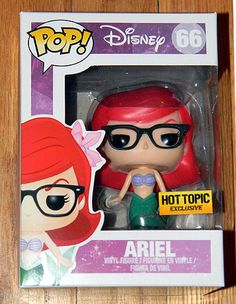 Funko created a Hipster Ariel figure. She does NOT want to be where the people are. The people are too mainstream. Disney princess.