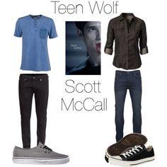 """Scott McCall: Teen Wolf"" by softlyjo on Polyvore"