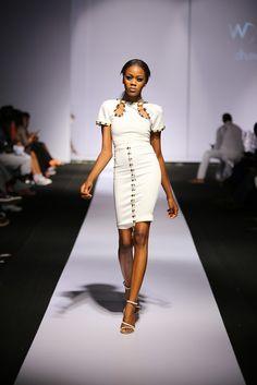 Guaranty Trust Bank Lagos Fashion & Design Week | GTBLFDW 2014 Day 1: Wizdhurm Franklyn