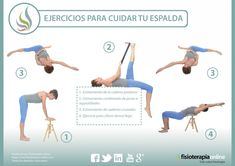 Te presentamos unos útiles ejercicios para cuidar tu espalda, pruébalos! Judo, Pilates Video, Pilates Yoga, Outdoor Sheds, Sciatica, Back Pain, Anatomy, Thighs, Medicine
