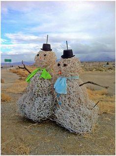 *.West Texas Snowmen.*         t