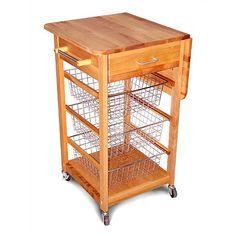 """Catskill Craftsmen, Inc. Kitchen Cart 35.75"""" H x 32.75"""" W x 21"""" D"""