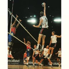 When you are 6-10 and can jump even higher. Jake Langlois of BYU competes at the Pan Am Cup. by #usavolleyball http://ift.tt/1LgdqvQ