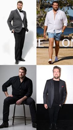 5 plus size men's clothing brands Mens Fashion Blazer, Preppy Mens Fashion, Men Fashion Show, Men's Fashion, Plus Size Mens Clothing, Mens Clothing Brands, Men's Clothing, Men Style Tips, Fitness