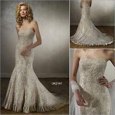 Gorgeous Mermaid Wedding Dress