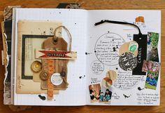 **Mon scrap par Liliema**: ~~ Journal d'automne ~~