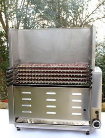 Kitchen Grill, Kitchen Stove, Bq Grills, Custom Bbq Pits, Stoves Cookers, Food Truck Business, Food Tech, Dome House, Diy Interior