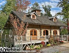 Looking for Mountain Rustic House Plans? America's Best House Plans offers the largest collection of quality rustic floor plans. Log Cabin House Plans, Rustic House Plans, Mountain House Plans, Modern Farmhouse Plans, Cottage House Plans, Modern House Plans, Cabin Homes, Cottage Homes, Log Homes