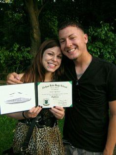 Joseph & I on my graduation day<3 @ 7 Bridges